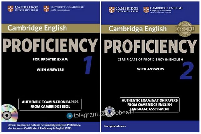 Cambridge English Proficiency 1, 2 - Examination Papers +Audio