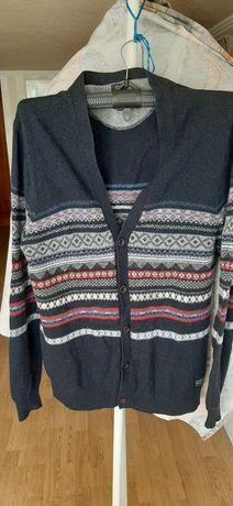 Пуловер кардиган COTTONFIELD XXL