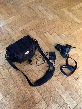 Canon EOS 600D + torba  + ładowarka