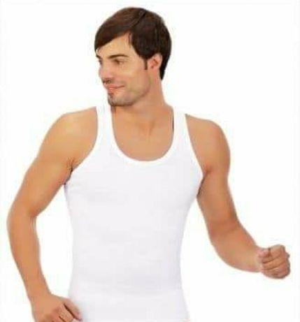 XL Podkoszulki męskie 100% bawełna