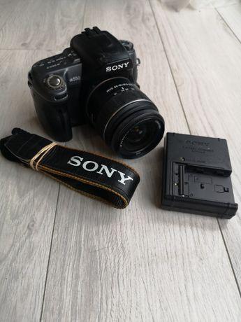 APARAT SONY ALFA A550 + SONY 18-55MM 3,5-5,6