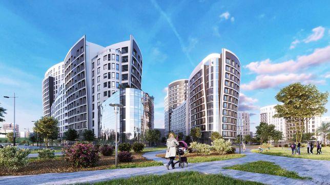 Комерція Кульпарківська фасад від 52 - 245 м2 - Парус Сity