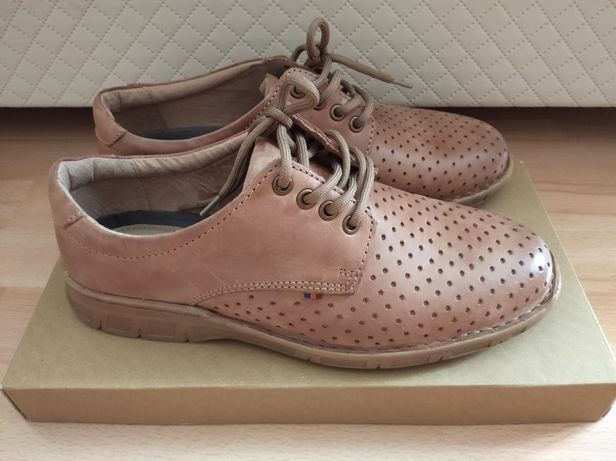 Nowe buty męskie skóra , r.42