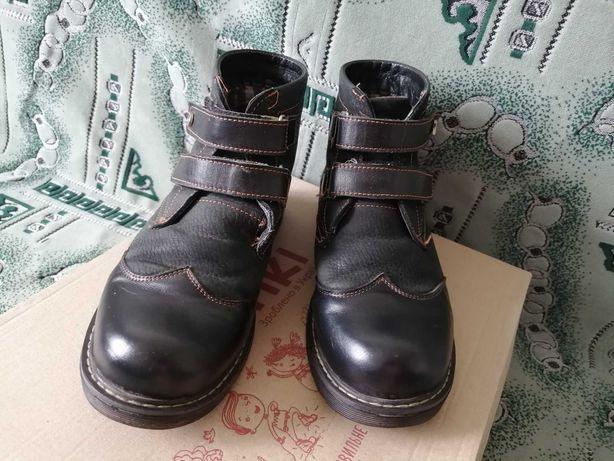 Ботинки демисезонные для мальчика 36 размер