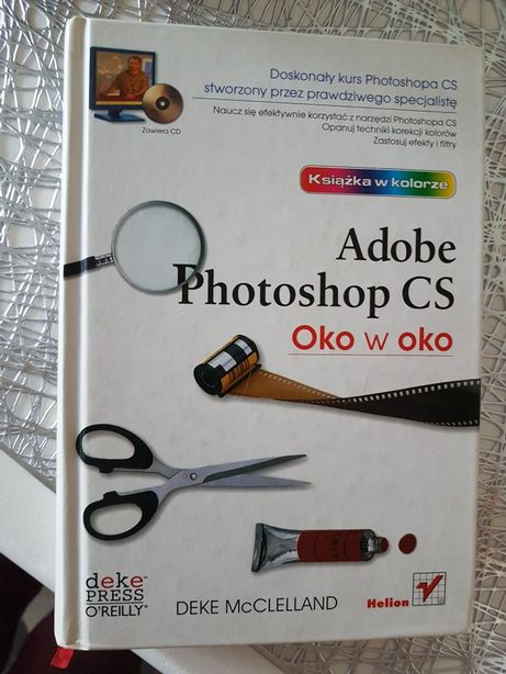 Adobe Photoshop CS Oko w Oko + płyta CD