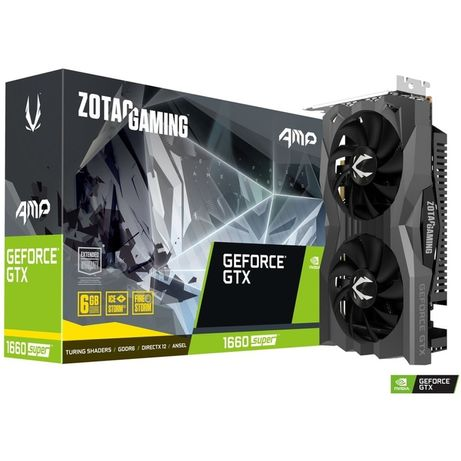 Placa Gráfica Zotac GForce 1660 Super Amp