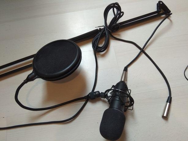 Mikrofon studyjny Renkforce AT 100 Zestaw