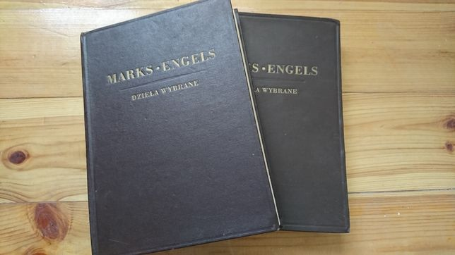 Marks, Engels dzieła wybrane tom l i ll