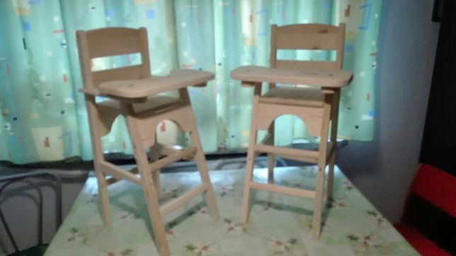 Fotelik do karmienia lalek