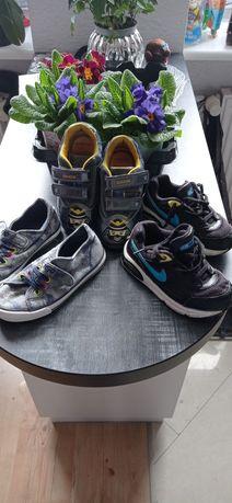 Buty chłopięce firmy Geox + 2 gratisy Nike i bejo
