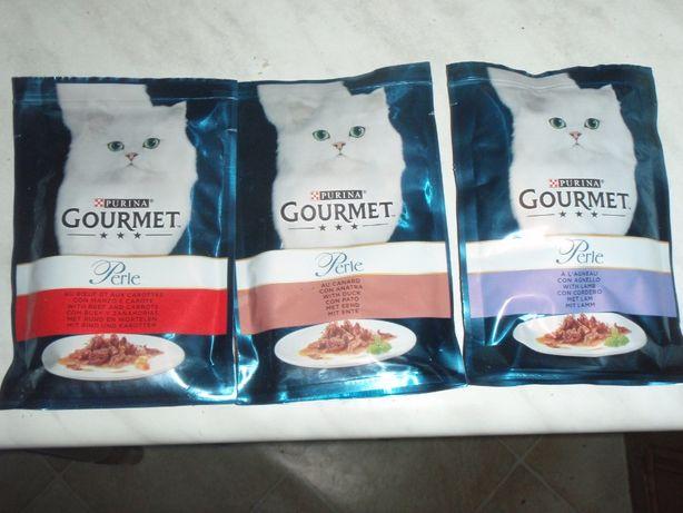 Karma dla kota Gourmet Perle: wołowina, kaczka, jagnięcina