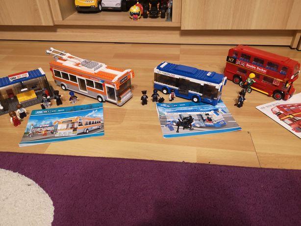 Klocki Sluban zestaw 3 autobusów