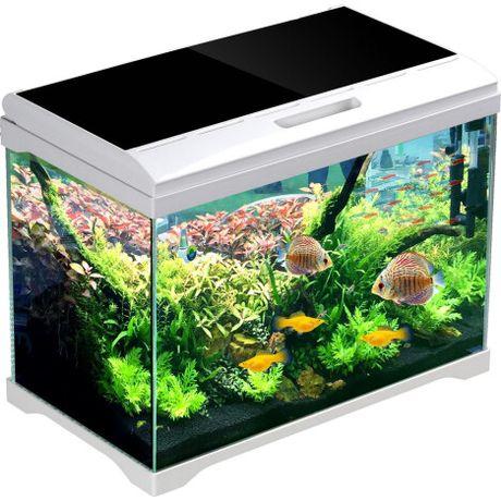 Аквариум 34л + Фильтр для аквариума = 397 грн ,Корма Тетра, Декор