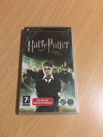 Jogo PSP Harry Potter e a Ordem da Fénix