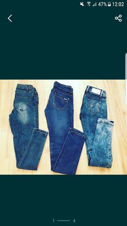Jeansy Spodnie XS