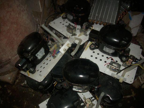 kompresor agregat do lodówki chłodniczki z wentylatorami