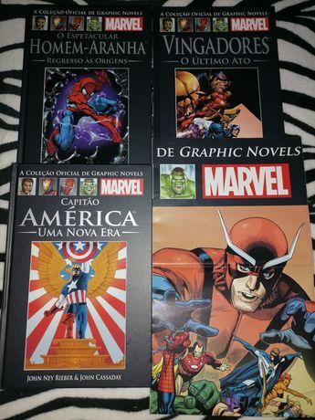 Coleção Graphic Novels Da Marvel
