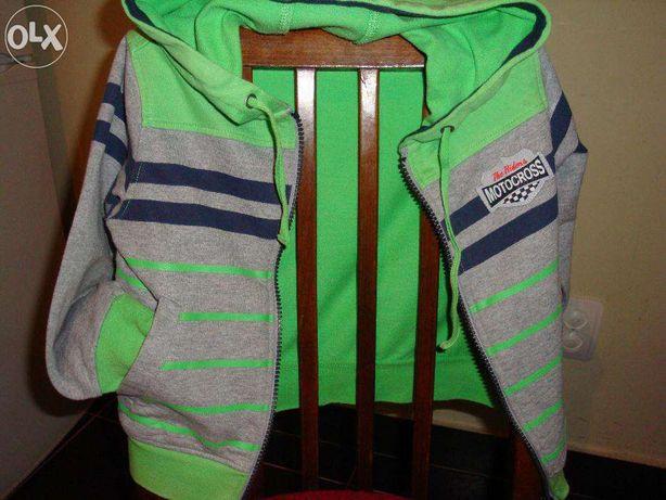 Літня курточка-олімпійка SELA на хлопчика 3 років (100%бавовна)