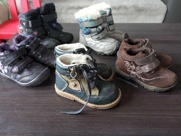 Buty jesienno-zimowe dziewczynka 21 i 22