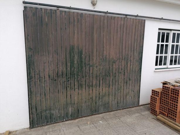 Portão de correr garagem