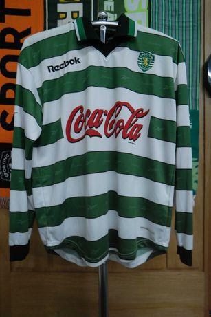 Camisola do Sporting CP - Camadas jovens (Juniores) 2002/2003