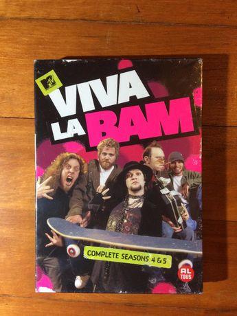Viva La Vam Sezon 4&5 Bam Margera Deskorolka Skateboard Jackass DVD