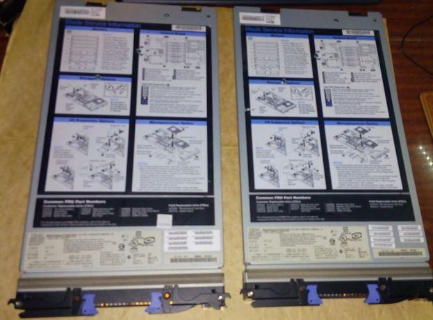 Блейд-сервер IBM BladeCenter HS21XM type 7995 / 2x Intel XEON E5440