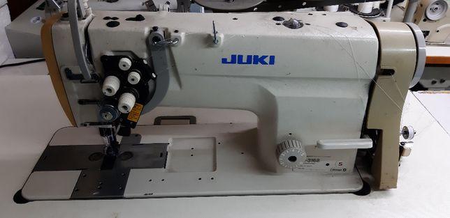 dwuigłówka juki lh 3168 maszyna do szycia krawiecka