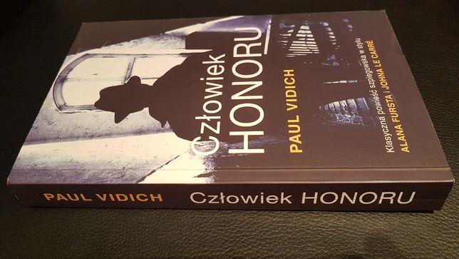 """Nowa książka """"Człowiek honoru"""" Paul Vidich KRK"""