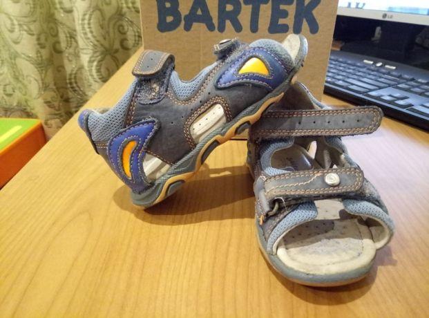 Сандали кожаные 23 размер сандалі взуття обувь босоножки Бартек Bartek