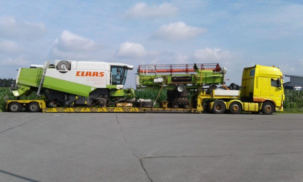 Transport Ciągnik Traktor Kombajn Sieczkarnia maszyny rolnicze leśne Ciechanów - image 1