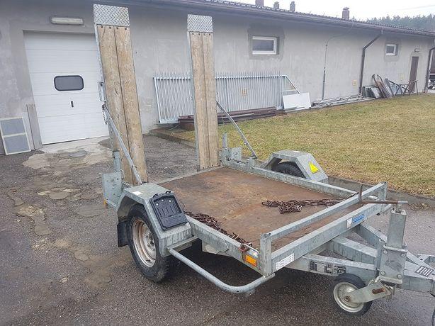 Laweta, Przyczepa z Najazdami 1600 kg DMC pod Mini Koparke Traktorek