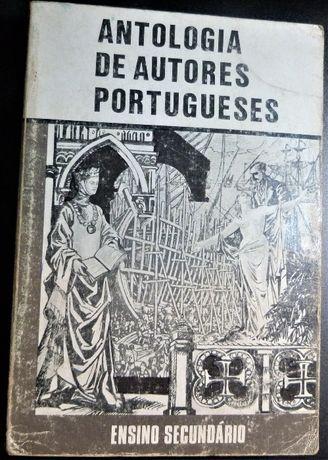 """""""Antologia de Autores Portugueses"""" Ensino Secundário - Anos 60?"""