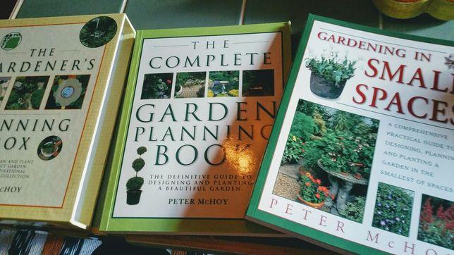 Livros de jardinagem em Ingles