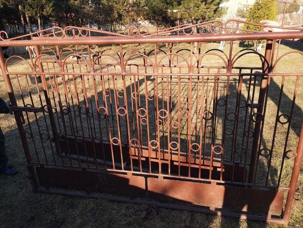 Brama wjazdowa stalowa metalowa