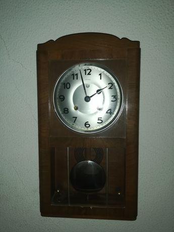 """Relógio de parede, antigo, marca portuguesa """"Reguladora"""