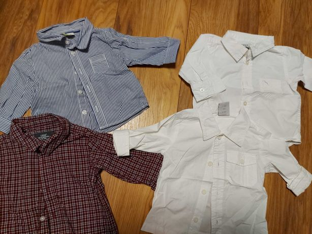 Chlopiec 62 koszula HM, coccodrillo