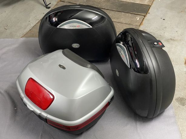 Kufry boczne kufer centralny Honda yamaha bmw kappa k40 jak nowe