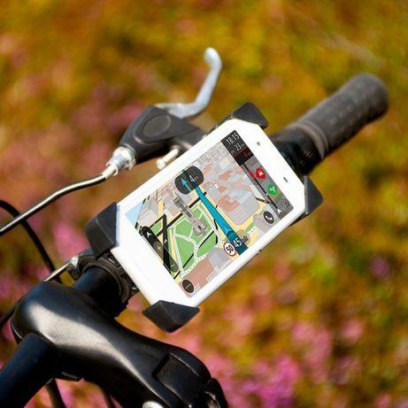 Uchwyt na telefon na rower kierownicę