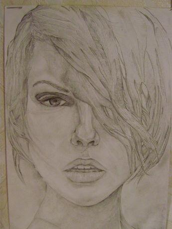 Рисую портреты по фото на заказ_карандаш_акварель