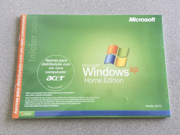 Microsoft Windows XP Home Edition - Version 2002