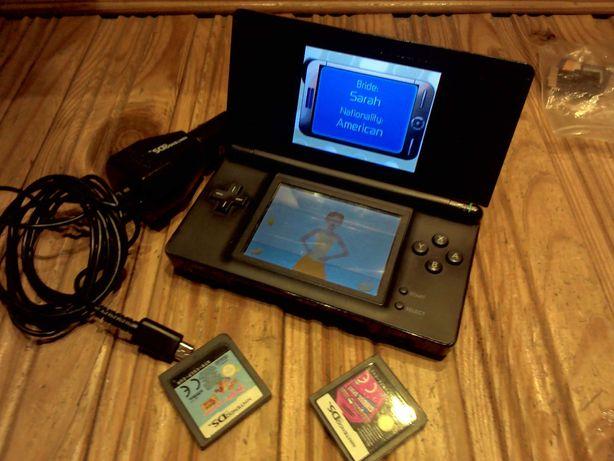 Nintendo ds lite gry konsola ładowarka usg-001 kolekcjonerska