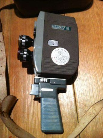 Camera de filmar Kopil 8mm Electric Eye - anos 60s