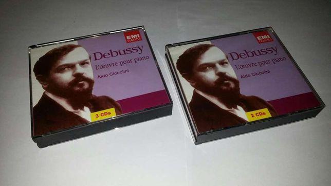 DEBUSSY - L'oeuvre pour piano - Aldo Ciccolini - 5xCD (emi classics)