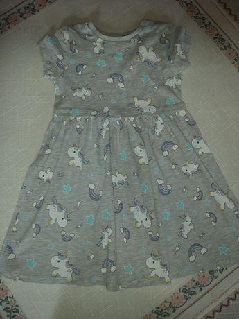 Платье с длинным рукавом на 3-4года Next