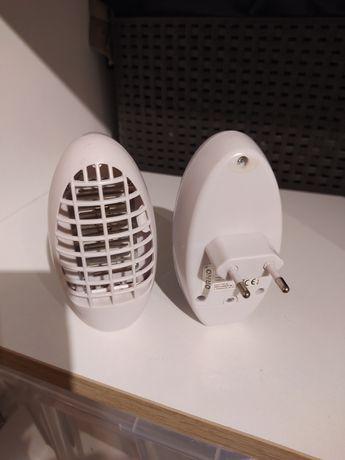 Dwie elektryczne lampki na komary Orno