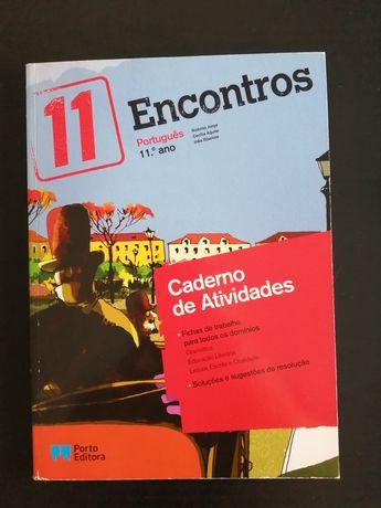 Caderno de Exercícios Encontros Português 11ano