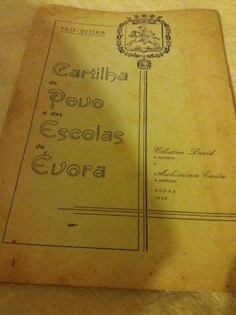 Cartilha do Povo e das escolas de Evora de 1942