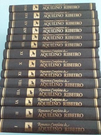 Livros de capa rija, de Aquilino Ribeiro, romances completos