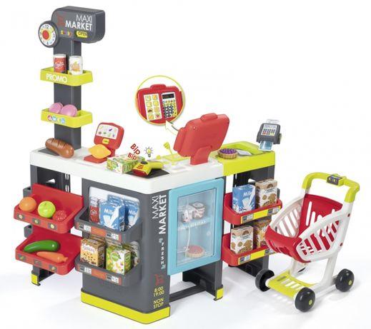 2 ПО ЦЕНЕ 1 Интерактивный супермаркет Smoby Maxi Market 350215
